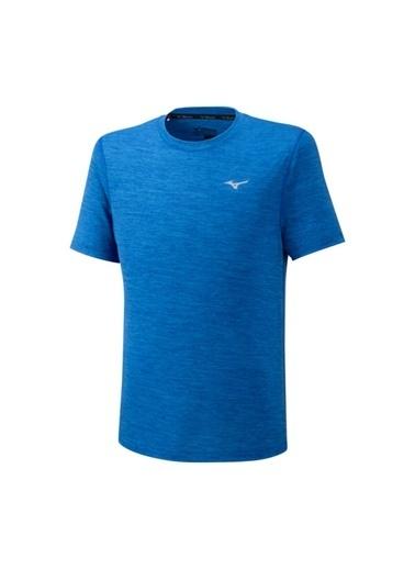 Mizuno ımpulse Core Tee Erkek T-Shirt Mavi Mavi